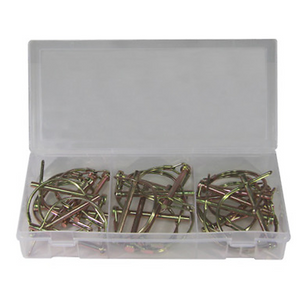 20 Piece Round PTO Pin Assortment 2-1/2 Inch  x 1/4 Inch