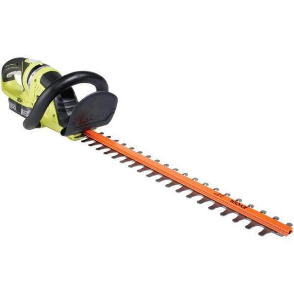 Ryobi ONE+ Lithium+ 22 in. 18-Volt Lithium-Ion Cordless Hedge Trimmer - 1.5 Ah Battery and Charger Included *Scratch & Dent* (Box Damaged) Item Opened & Tested-chainsaws & trimmers-Tool Mart Inc.