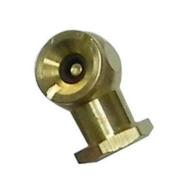 Solid Brass Tire Chuck-air inflators-Tool Mart Inc.