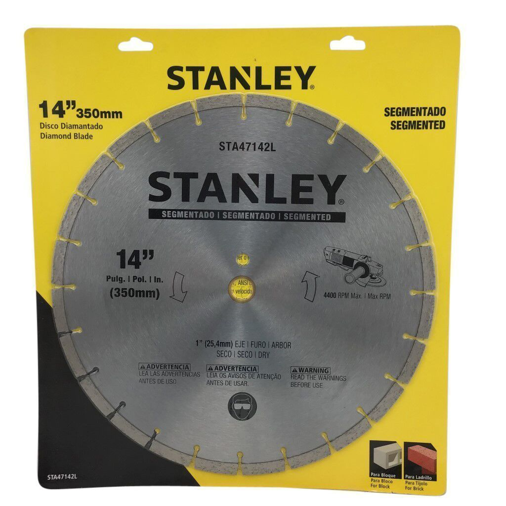 Stanley 14 Inch Segmented Diamond Blade-knives & cutting tools-Tool Mart Inc.