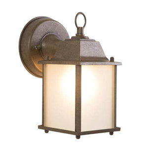 Tara Collection 1-Light Brown Outdoor Wall-Mount Lamp Damaged Box-outdoor lighting-Tool Mart Inc.