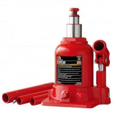Torin Big Red Jack 2 Ton Double Ram Bottle Jack-winches & jacks-Tool Mart Inc.