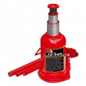 Torin Big Red Jacks 12 Ton Double Ram Bottle Jack-winches & jacks-Tool Mart Inc.
