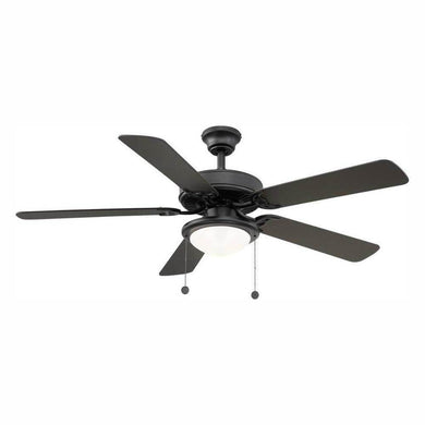 Trice LED black ceiling fan damaged box-ceiling fixtures & fans-Tool Mart Inc.