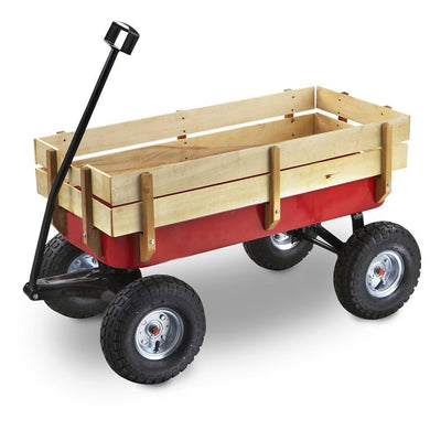 Western Express Red Wagon-ATV & Toys-Tool Mart Inc.