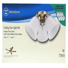 Westinghouse Lighting Corp. Ceiling Fan Light Kit Damaged Box-ceiling fixtures & fans-Tool Mart Inc.