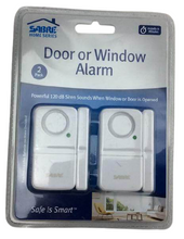 Wireless Door and Window Alarm (2-Pack) Damaged Package