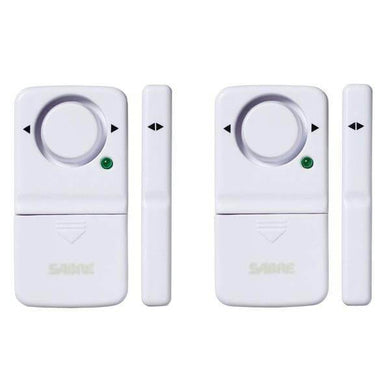 Wireless Door and Window Alarm (2-Pack) Damaged Package-detectors, alarms, & radios-Tool Mart Inc.