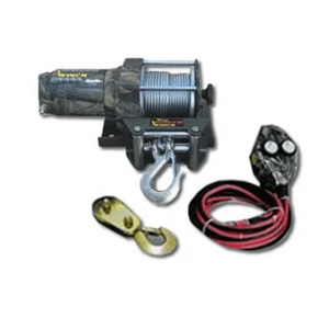 Wood Power 2000 LB Real Tree Camouflage Winch-winches & jacks-Tool Mart Inc.