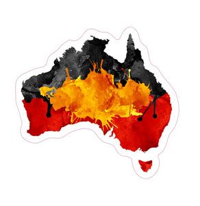 Aboriginal Australia Stickers