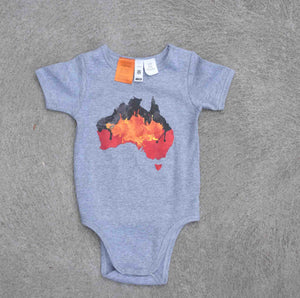 Vibrant Finish Onesie