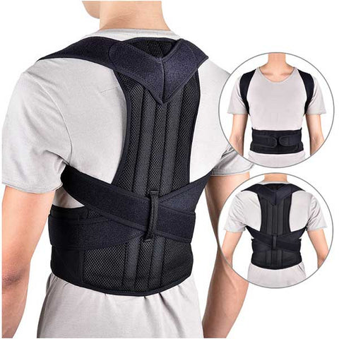 Adjustable Posture Corrector Back Brace Shoulder Lumbar Spine Support