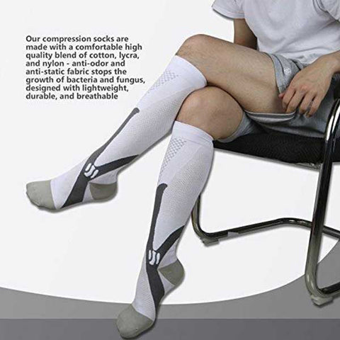 Compression Socks - 30-40 mmHg ~ Performance Tested!