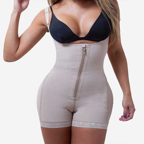 Full Body Shaper with Zipper