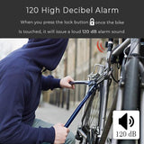 Anti Theft Smart Bicycle Alarm, Tail Light & Bell