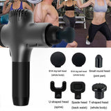 6-In-1, Relieving Pain, 5 Speed Setting Body Deep Muscle Massager