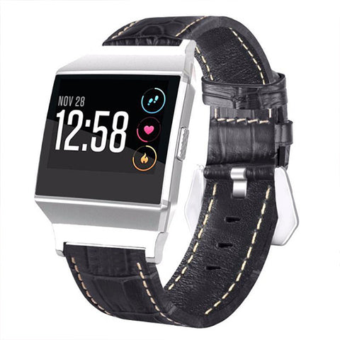 Luxury Leather Fitbit Ionic Strap