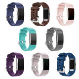 Silicone Fitbit Charge 2 Strap