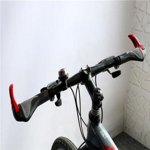 Rubber Ergonomic Push-On Soft Grips for MTB Handlebars