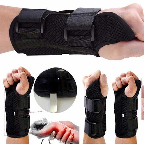 Wrist Support Brace Carpal Tunnel Arthritis Tendonitis Night Splint