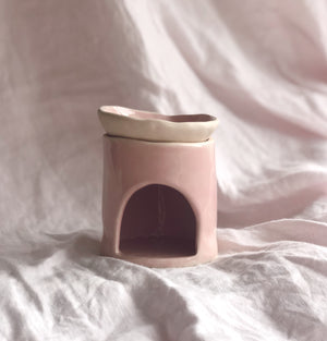 Ceramic Oil Burner - Pink