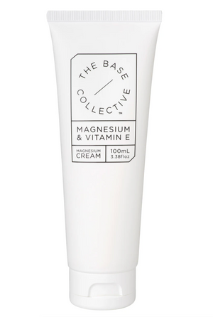 The Base Collective- Magnesium & Vitamin E Cream (100ml)