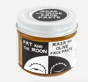 Fat and the Moon- Masa & Olive Face Paste