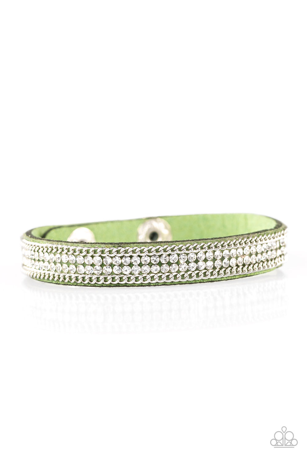 Babe Bling Green