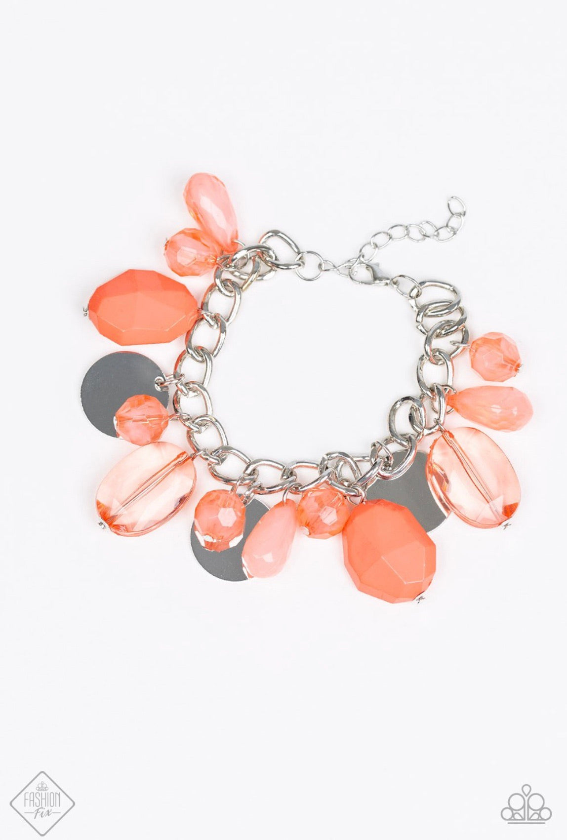 Treasure Trippin' Orange Bracelet