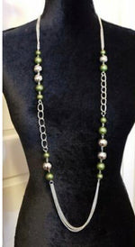 Uptown Talker Green Necklace
