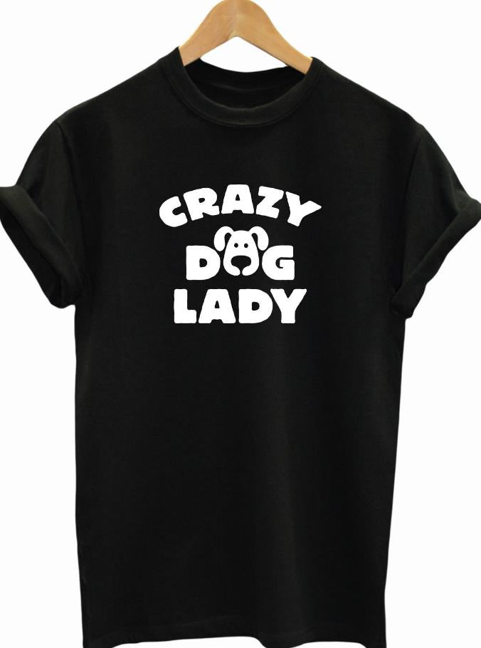 Crazy Dog Lady Tee - Moonbeam Distribution