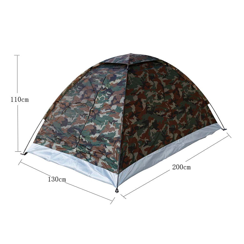 Camouflage Polyester Outdoor Tent