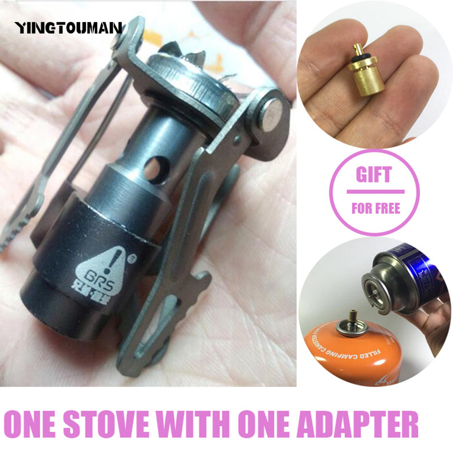 Ultra-light Titanium Alloy Camping Stove
