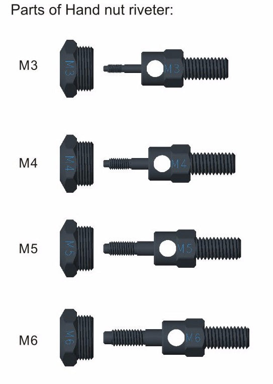 Heavy Hand Manual Mandrels