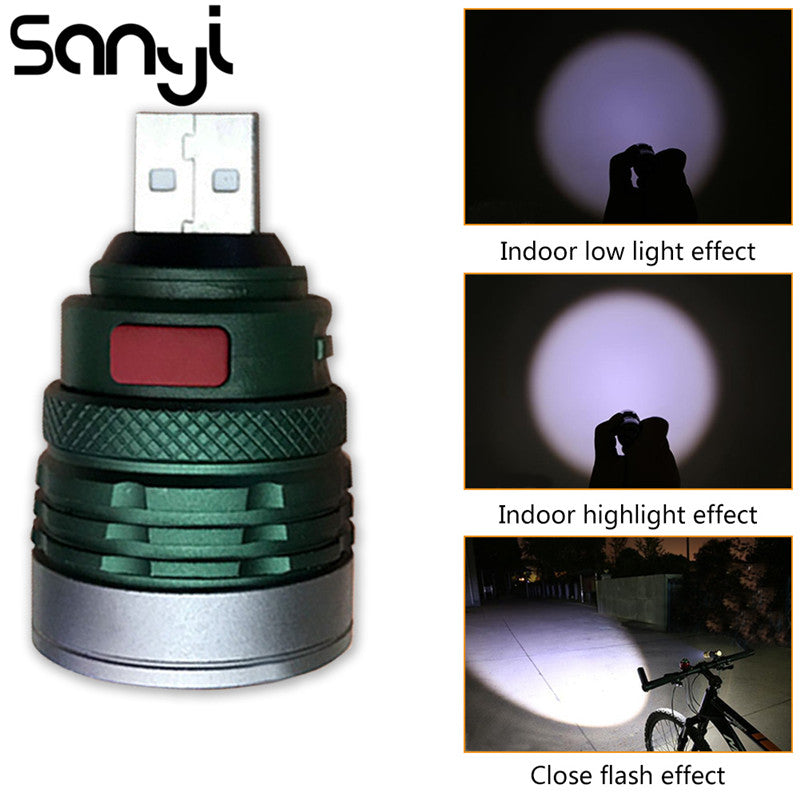 Charging Interface Handy Pocket Flashlight