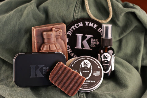 Grouping pf K Bar Soap Co products