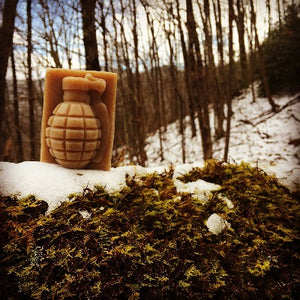 Firewatch Grenade Soap Outside in Snow