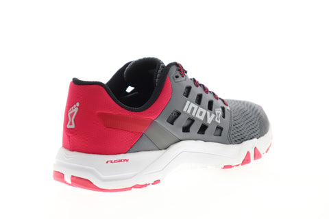 Inov-8 All Train 215 Womens Gray Mesh Low Top Athletic Cross Training Shoes