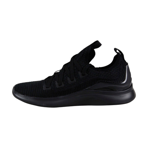 Supra Factor Mens Black Textile Low Top Lace Up Sneakers Shoes