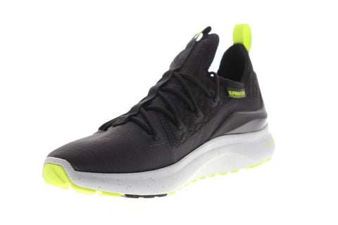 Supra Factor XT Mens Black Textile Athletic Lace Up Walking Shoes