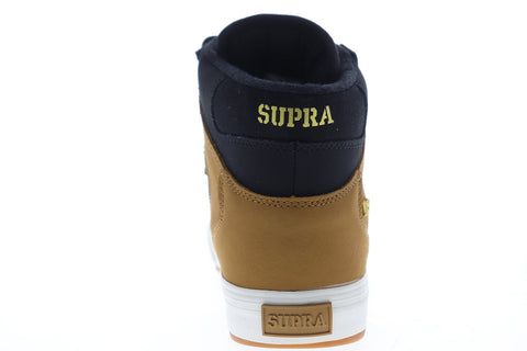 Supra Vaider Cold Weather 08043-033-M Mens Black Nubuck High Top Sneakers Shoes