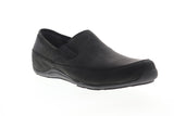Ahnu Jack Pro 1009565 Mens Black Nubuck Casual Slip On Loafers Shoes