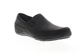 Ahnu Jack Pro 1009570 Mens Black Nubuck Leather Low Top Casual Loafers Shoes