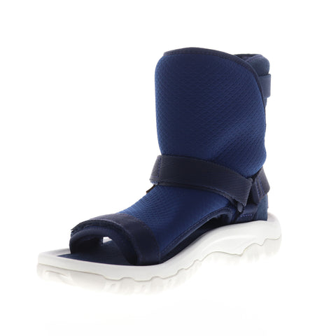 Teva Ugg Teva Collab Hybrid 1018220 Mens Blue Canvas High Top Casual Dress Boots