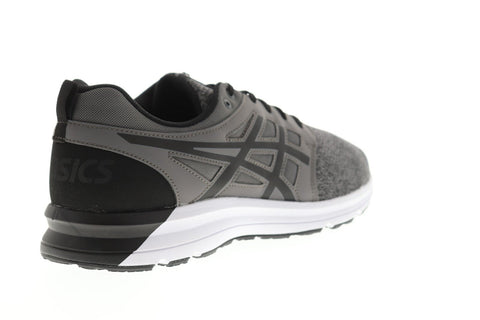 Asics Gel Torrance Mens Gray Textile Low Top Lace Up Sneakers Shoes
