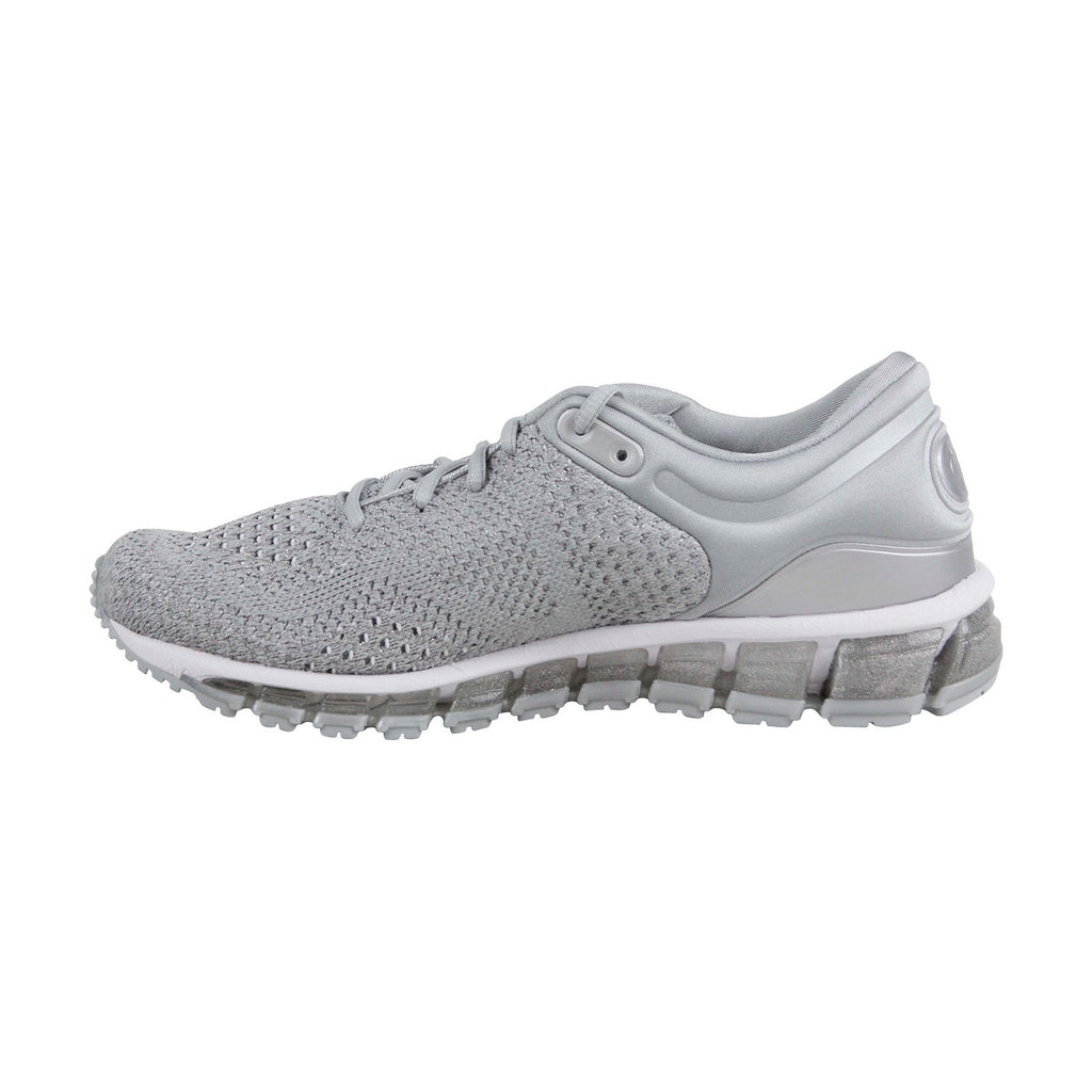 1aee86f8 Asics Gel Quantum 360 Knit 2 Womens Silver Textile Athletic Running Shoes