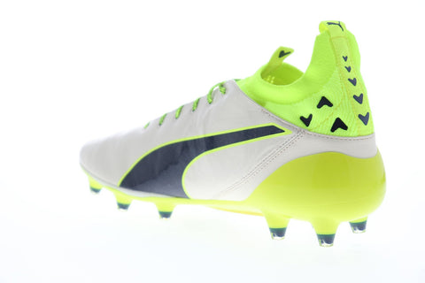 Puma Evotouch Pro Special Edt Fg Mens White Leather Athletic Soccer Cleats