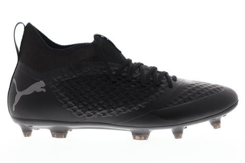Puma Future 2.3 Netfit Fg Ag Mens Black Synthetic Athletic Soccer Cleats