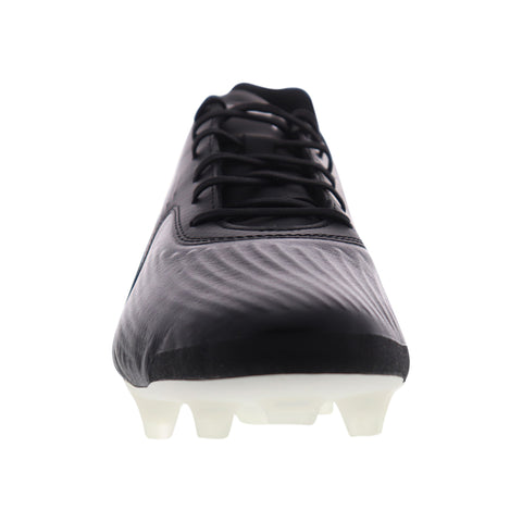 Puma One 19.1 CC FG AG 10548202 Mens Black Athletic Soccer Cleats Shoes