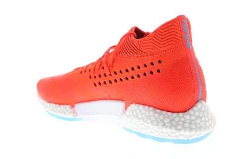 Puma Future Rocket Mens Red Textile Athletic Lace Up Training Shoes